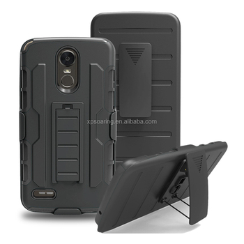 Rugged Armor defender case skin cover for LG stylos 3
