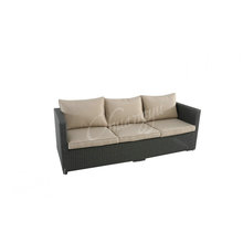 Hot Items rattan synthetic garden furniture of outdoor rattan garden furniture sofa set