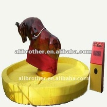Amusement Park Equipment Bullfight Inflatable Rodeo Bull For Sale