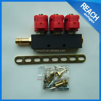 Different type exported factory price injector rail for