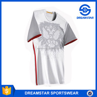Thai Quality 2016 New Model Russia Away Soccer Shirt