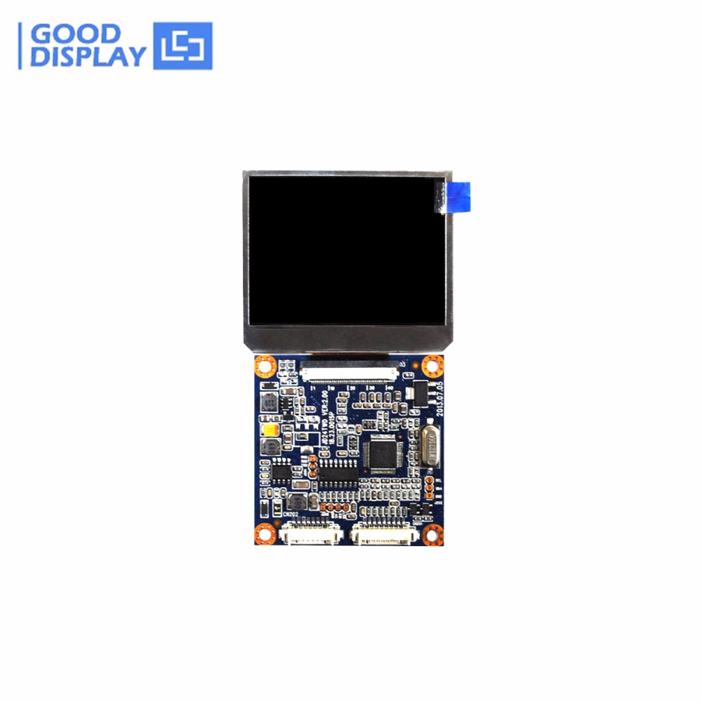 2.4inch LCD Module with Video input 480x234 dots small size GD24TWD-GTT24P138