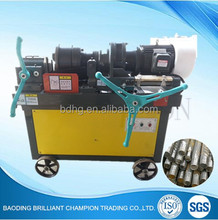 thread rolling machine for rebar for construction