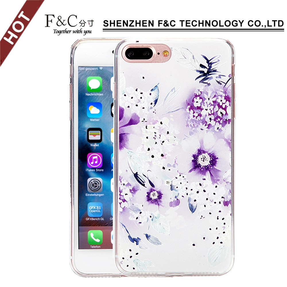 Sublimation Cover Case Printable Phone Cover Printing Plastic Mobile Phone Cover