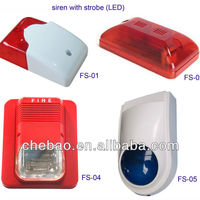 DC12V 24V Siren With Strobe Price