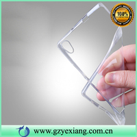 Factory Ultra Thin Slim Crystal Clear Transparent Case For Huawei Ascend P7