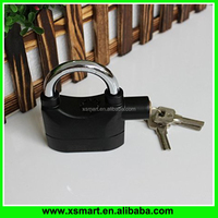 Universal Alarm Padlock 110db Siren Heavy Duty Security Alarm Lock for Bicycle Motorcycle Door Gate Bike Shed Bolt Chain Lock