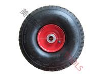 garden trailer pneumatic rubber wheels 4.00-4