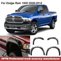 for Ram 1500 09-14 High Quality Injection mould PP material fender flares