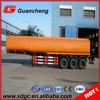 fuel oil tanker semi truck carbon steel tanker trailers for sale