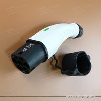 32A Type2 EV EV Male Holster For Electric Vehicle Charging Station