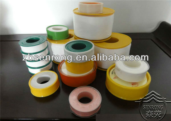 PTFE Thread Seal Tape Strip with Oil or Without Oil Sealing Twist Tape