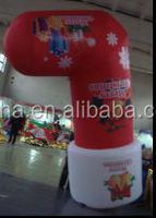 2015 inflatable Christmas stockings for decoration