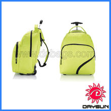 Plain travel trolley backpack bags