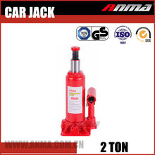 Red portable Manual mini automatic 2 ton 12 volt electric hydraulic car jack AM10002