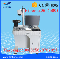 smart and strong enough Max laser source 20w fiber laser marking machine for stainless steel