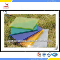 polycarbonate hollow sheet greenhouse roofing material