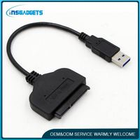 Usb 3.0 sata adapter cable converter ,h0tu3 usb3.0 to sata 3.0 cable for sale