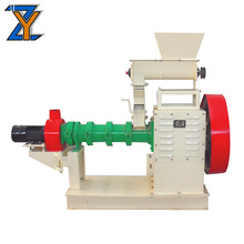 Economic small fish feed soybean extruder with clients' requirement for sale