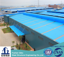 Two story fire retardant pre fabricated pre engineered steel structure workshop building