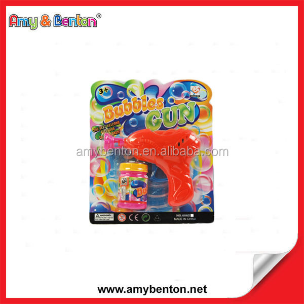 Friction Bubble Gun Plastic Bubble Gun Bubble Shooter Gun Toy
