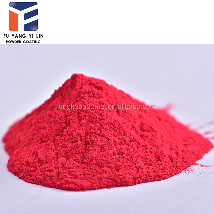 epoxy-polyester powder coating for home used electric oven