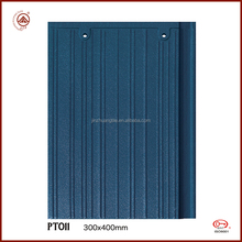 High Sale Decramastic Roof Tiles Blue 300*400mm ceramic clay roof tile