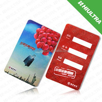 Customized wireless smart card splitter/contactless smart card