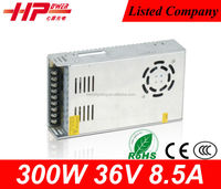 Factory sell CE RoHS approved 300w 36v scr variable dc power supply