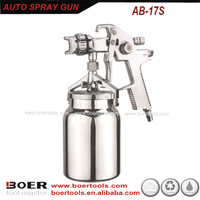 Good Quality HVLP Auto Painting Spray Gun big gun with 1000ml alu suction cup