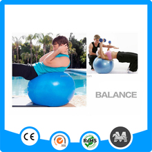 Promotional Anti-burst gym ball with custom logo for yoga ball