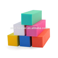 nail file factory Supply 5 colors wholesale nail buffer block