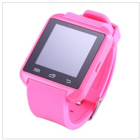 U8 Wrist Smart Watch Mobile Phone with Bluetooth Six Color on Stock Wholesales Promotion Bracelets (U8)