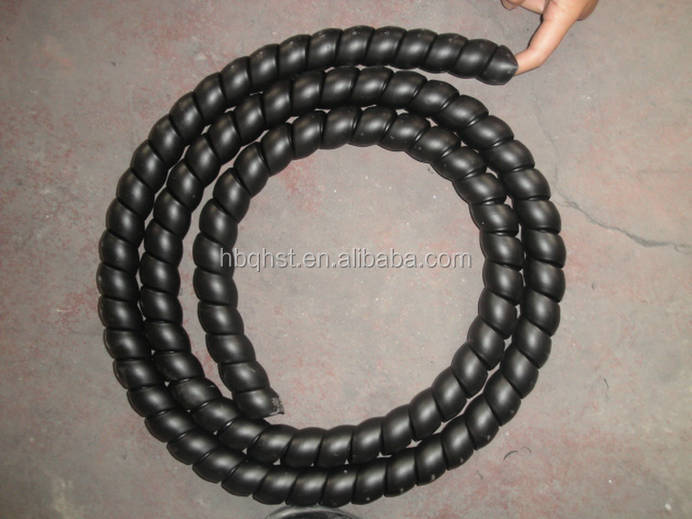 Colorful sprial guard hose protector for rubber