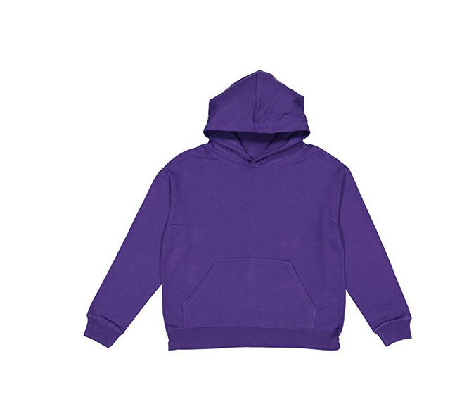 Byval Youth Fleece Long Sleeve Pullover Front Pouch Pocket Hooded Hoodies Sweatshirts