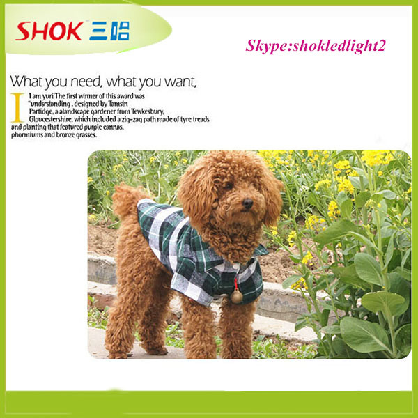 2015 high quality fashion design dogs clothes pet apparel wholesale