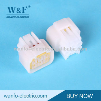 DJ7061Y-2.3-21 6 pin white Waterproof Automotive Connectors