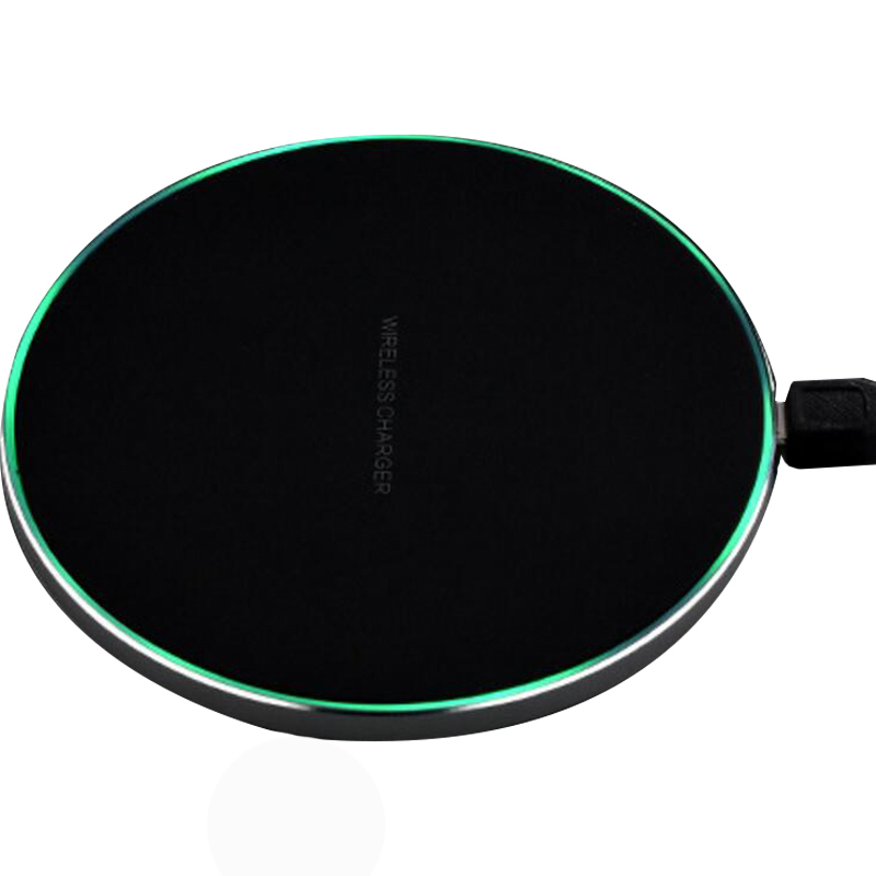 Mental Black Wireless Charger With Fast Full Charge