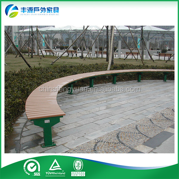 Fengyuan High Quality Garden Furniture Wood Plastic Composite Park Bench park bench parts