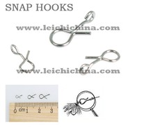 in stock wholesale best price carbon steel fly fishing snap hook