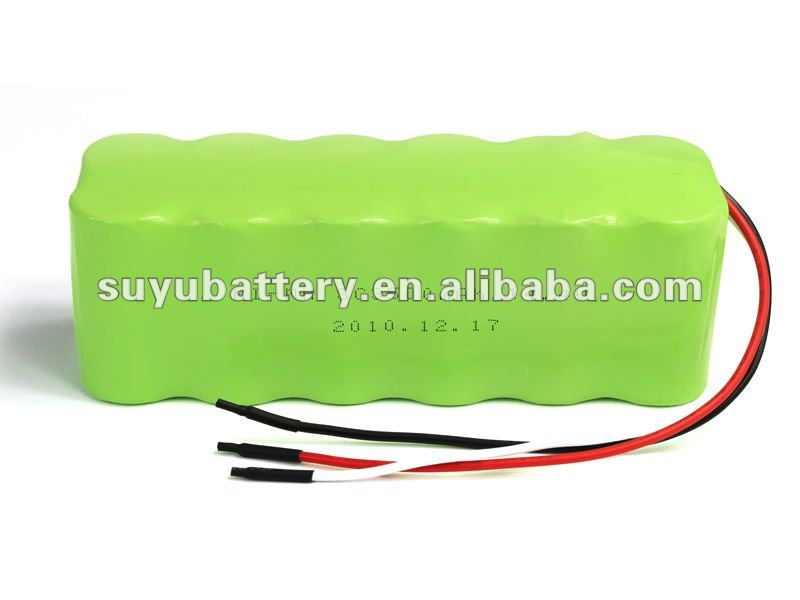 NiMH 14.4V SC 3500mah rechargeable battery pack with wire