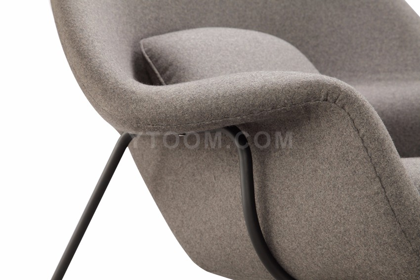 W fabric lounge chair replica womb chair buy womb chair eero saarinen replica product on - Replica womb chair ...
