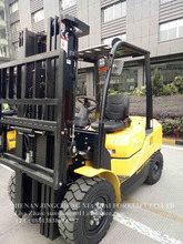 3 ton new diesel forklift truck with 6m lifting height CE standard for sale price