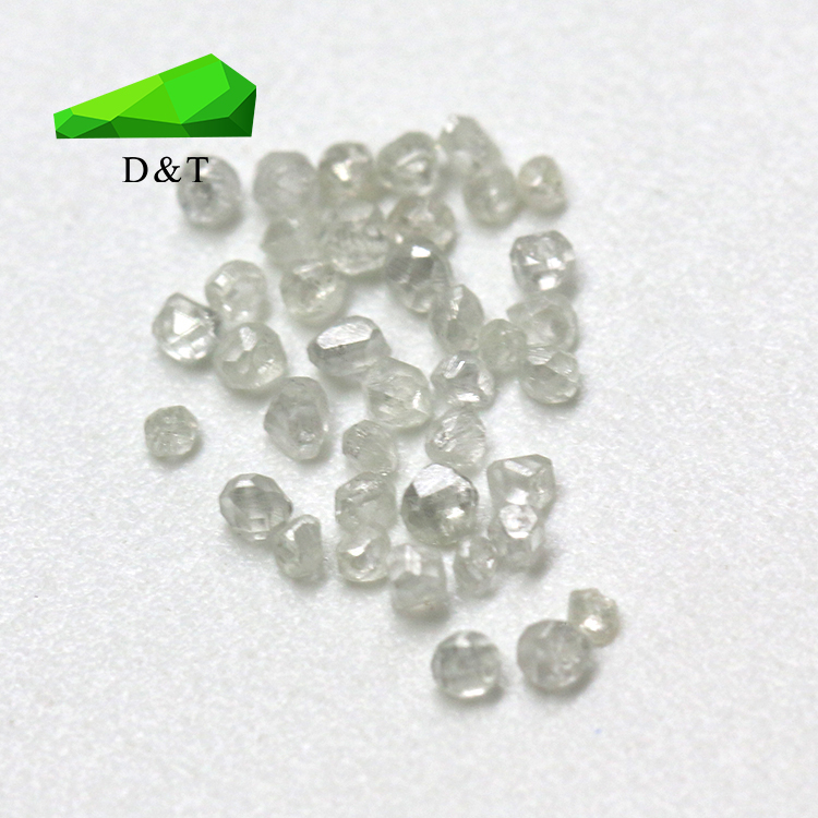 high quality lab created CVD/HTHP diamond color G/H/I/J clarity VS/VVS raw material stone