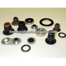 Rubber bonded washer