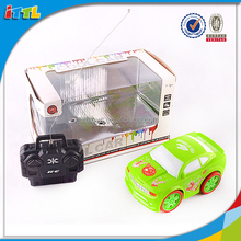 Plastic toy rc full function radio control car with battery powered