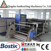 SR-B100 Fabric PVC hot melt adhesive coating lamination machine