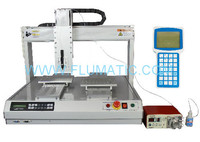 Electronics Dual Station Benchtop Instant Adhesive Peristaltic Automatic Dispensing Robots