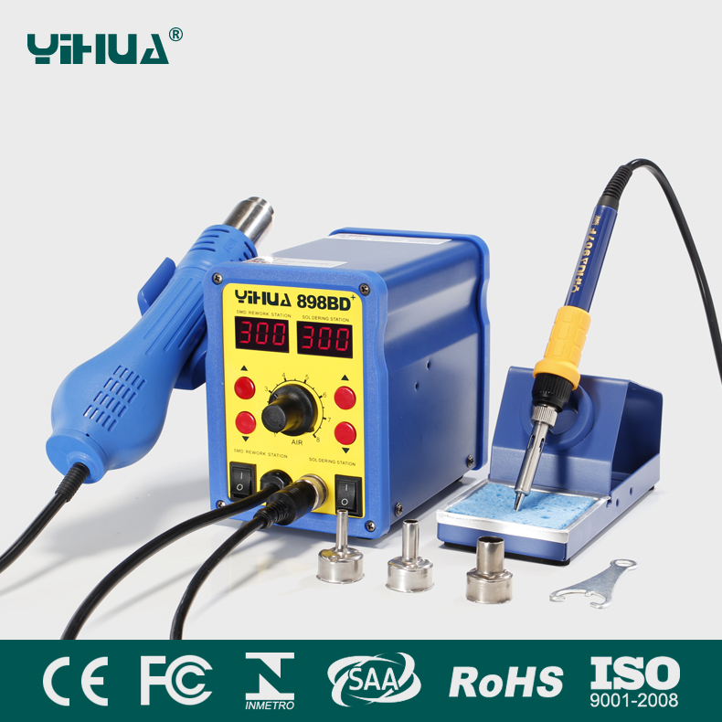YIHUA 898BD+ ESD safe solder station