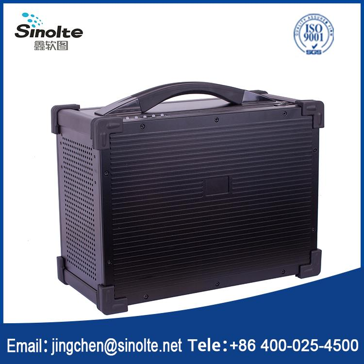 Sinolte-Two antennas walkie talkie two way radio LTE TDD integrated portable base station